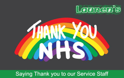 Saying Thank you to our Service Staff