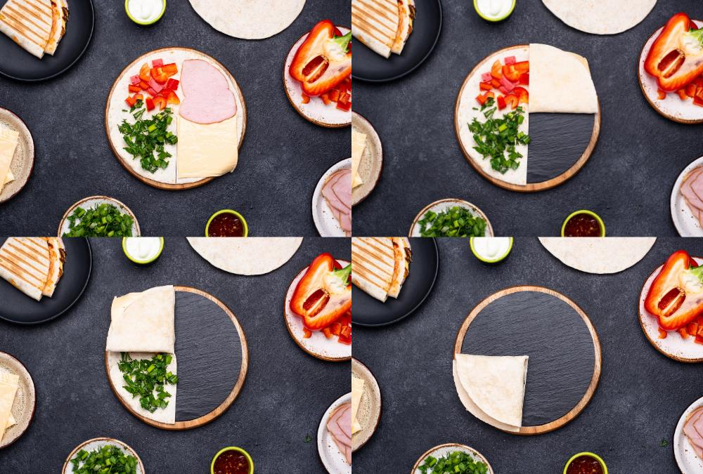 Lauren's blog tortilla hack steps